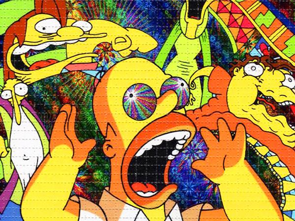 Komiksowe filmy porno Simpsonowie
