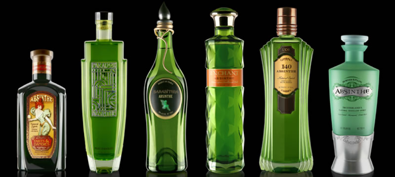 Absinthe Top 10 Strongest Alcoholic Drinks In The World