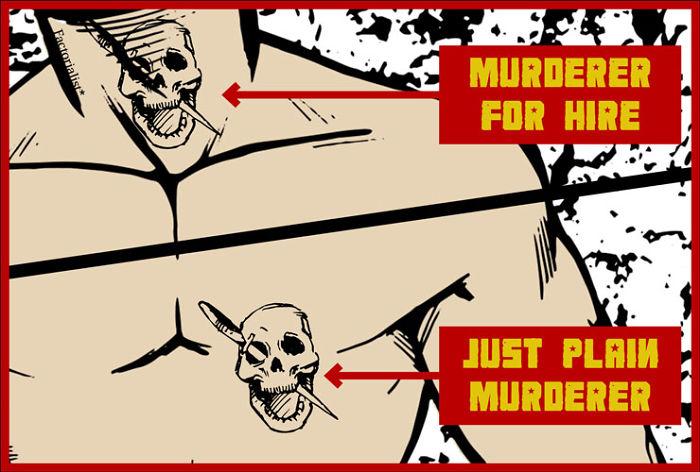 Więzienne Tatuaże Sowieckich Kryminalistów Joe Monster