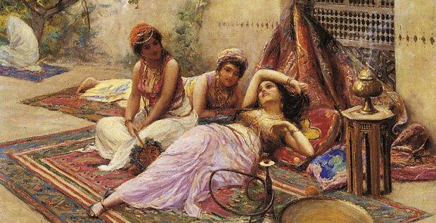 Spotyka się z poligamicznym mężczyzną