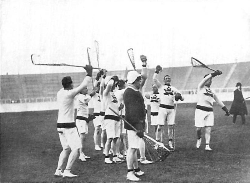 Lacrosse igrzyska olimpijskie gra wycofana