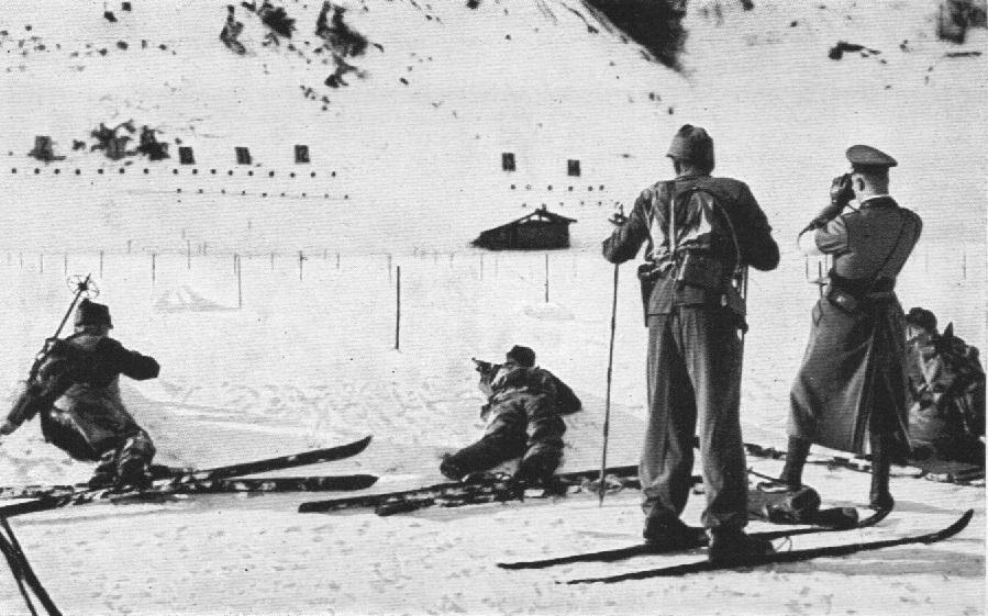 patrol wojskowy igrzyska olimpijskie 1936