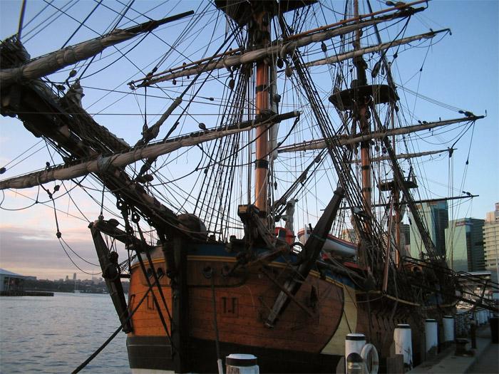 randki ze starymi kotwicami statków