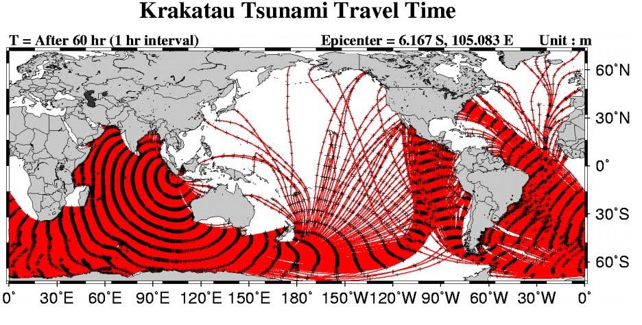 Krakatoa-Tsunami