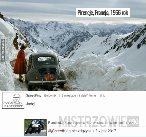 Pireneje, Francja, 1956 rok –