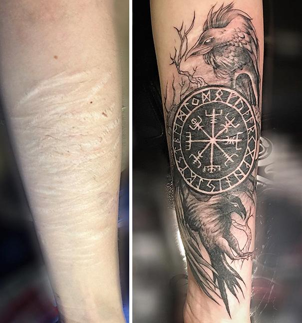 Tatuaże Ukrywające Defekty Ciała Ii Joe Monster