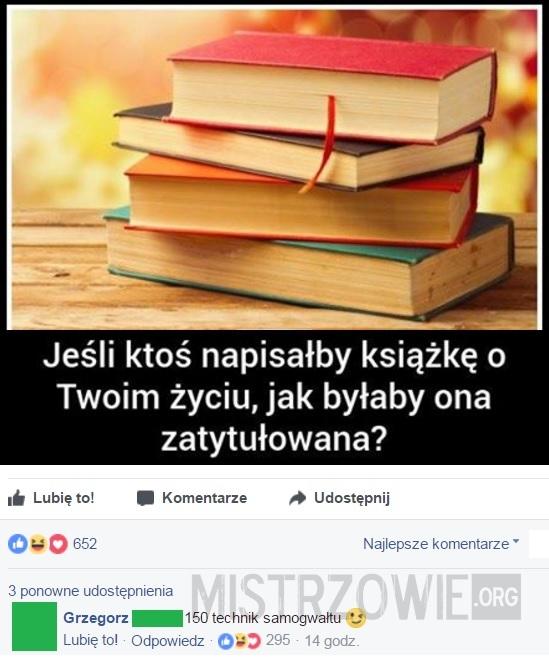 Książka o Twoim życiu –