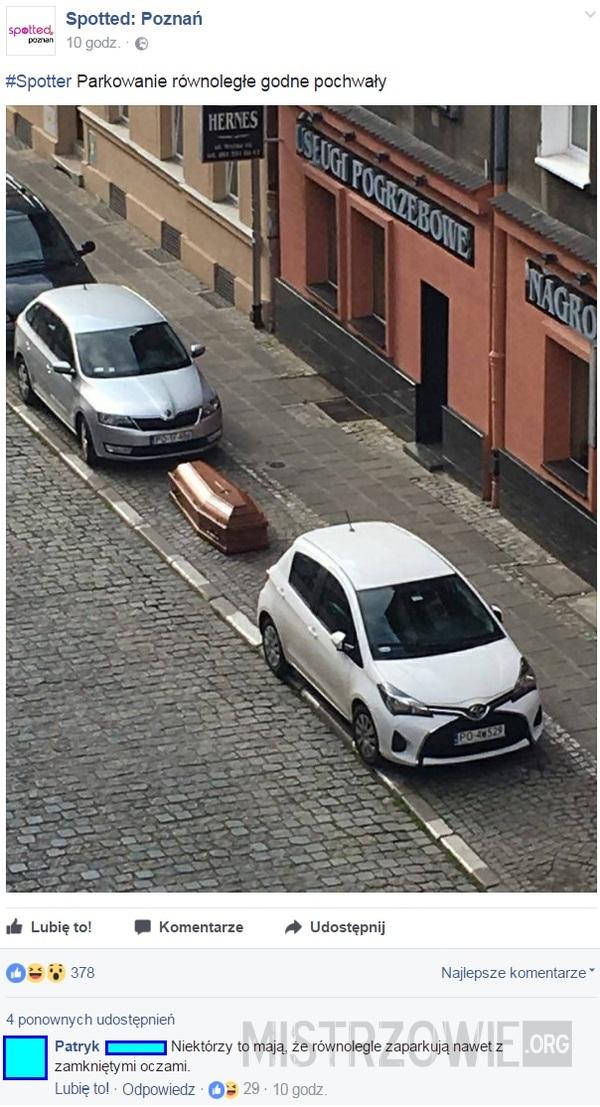 Parkowanie równoległe –