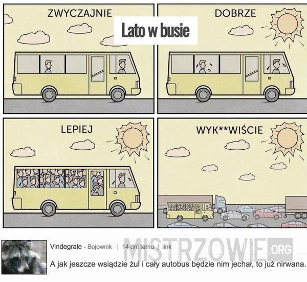Lato w busie –