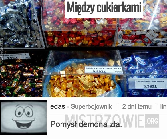 Między cukierkami –