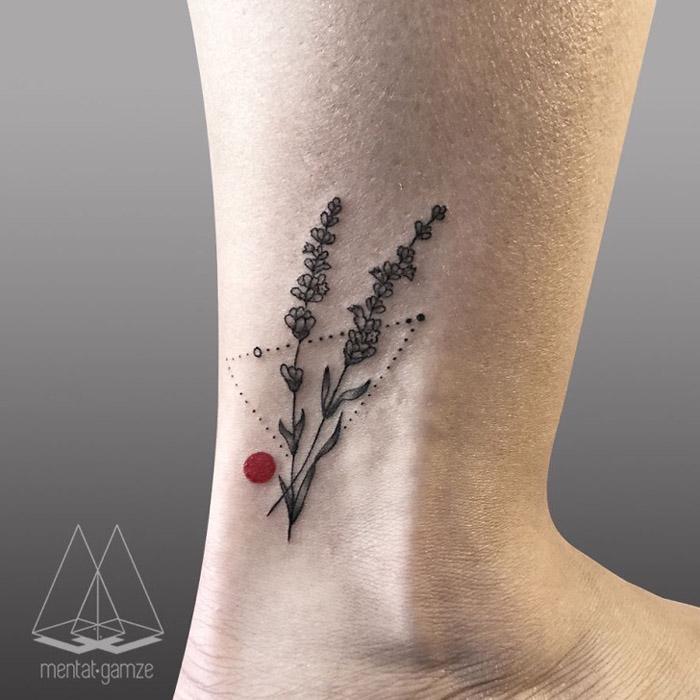 Wyjątkowe Tatuaże Z Czerwonym Punktem I Opowieść Mentat