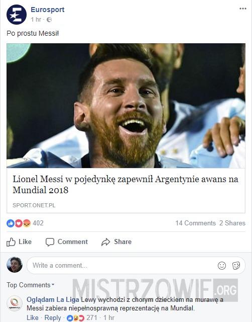 Lewandowski vs Messi –