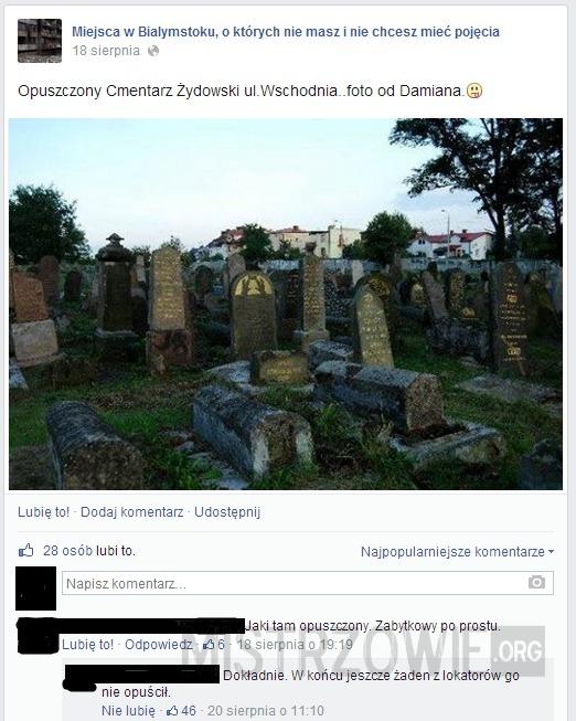 Cmentarz –