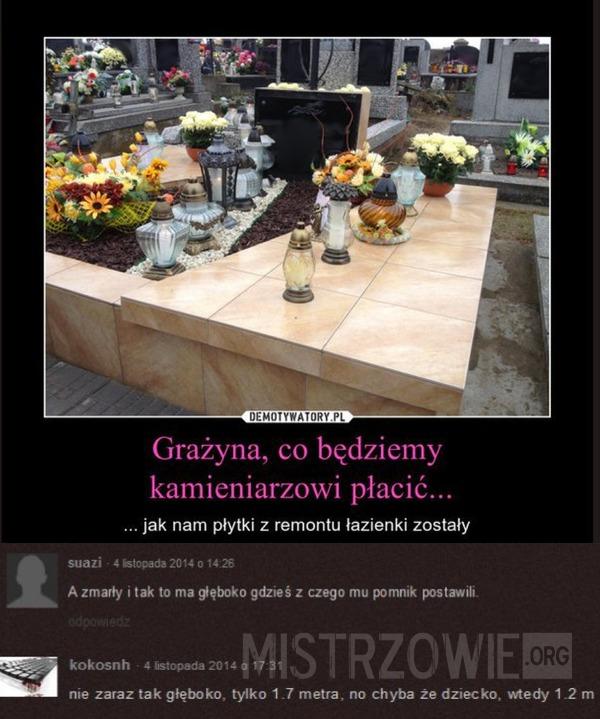 Dziwny grób –