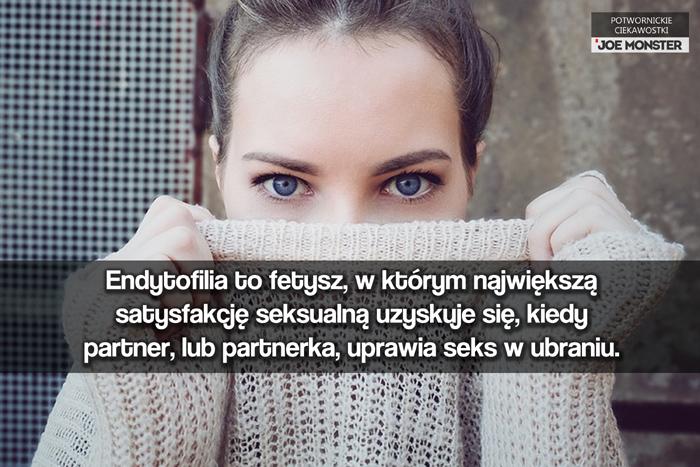 Endytofilia to fetysz, w którym największą satysfakcję seksualną uzyskuje się, kiedy partner, lub partnerka, pozostaje w ubraniu.