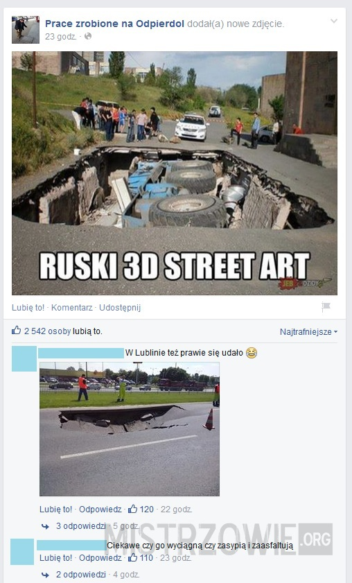 Street art –