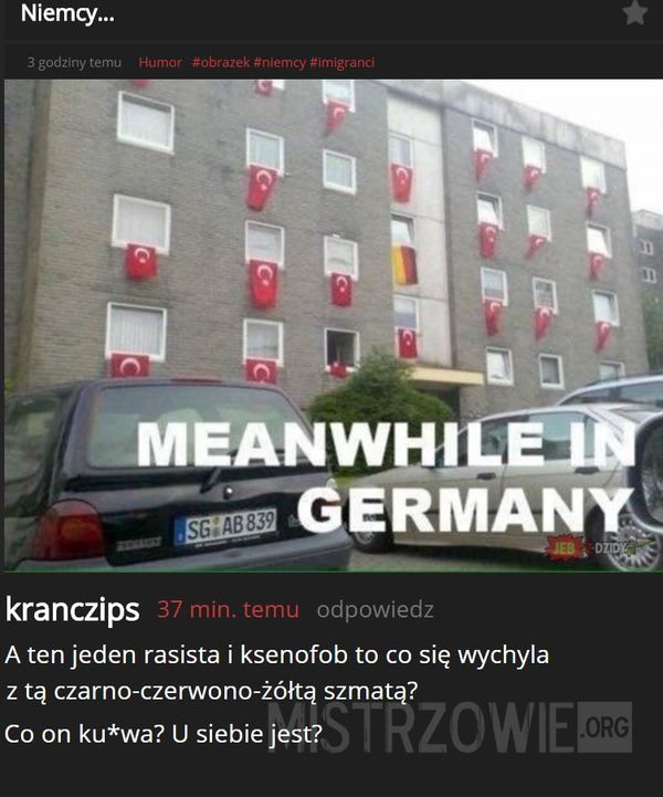 Tymczasem w Niemczech –