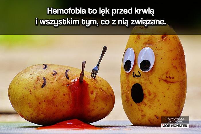 Hemofobia to lęk przed krwią i wszystkim tym, co z nią związane.