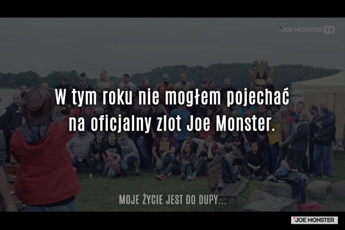W tym roku nie mogłem pojechać na oficjalny zlot Joe Monster.