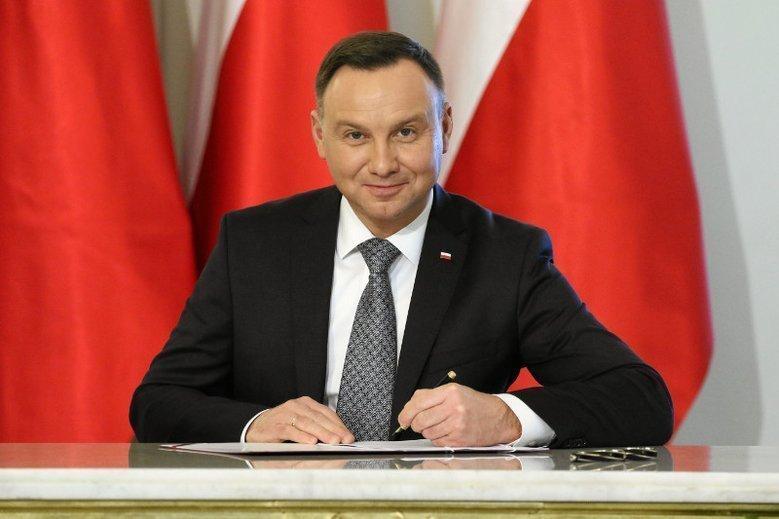 Znalezione obrazy dla zapytania Andrzej Duda