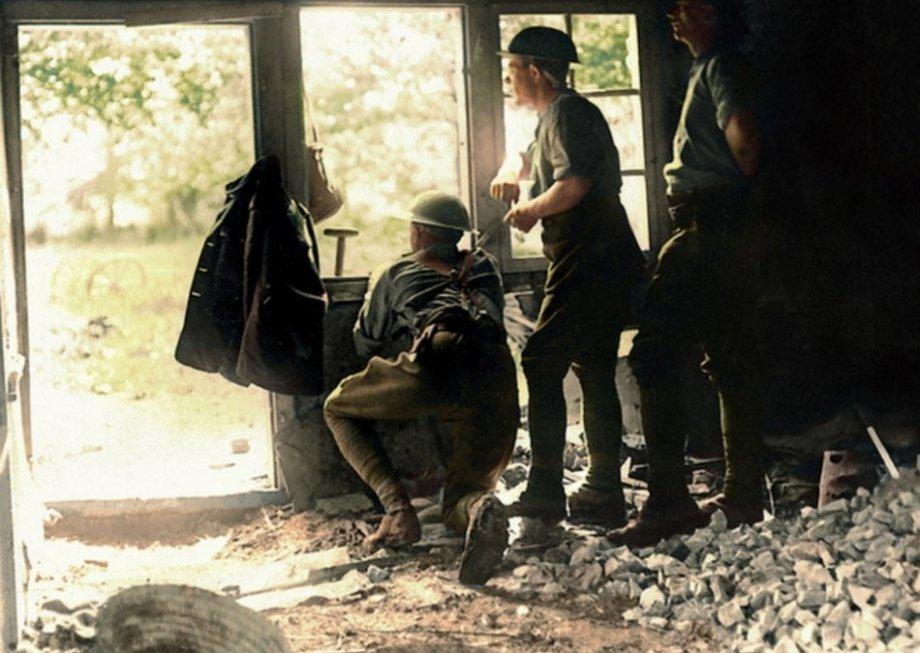 I Wojna Światowa w obiektywie - zdjęcia koloryzowane