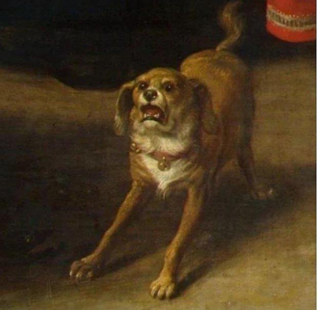 Codzienne reakcje ukazane na starych dziełach sztuki XIX