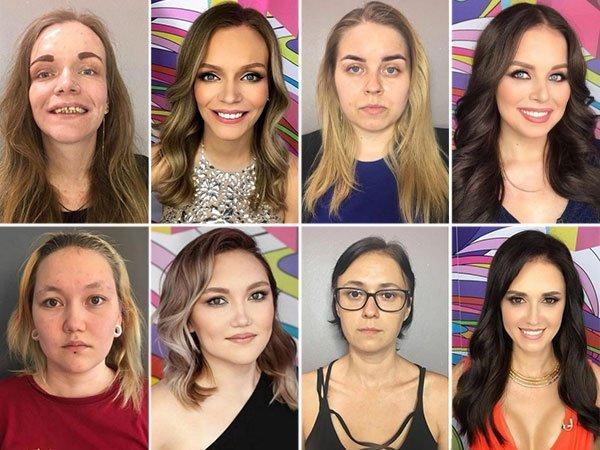 Jak makijaż zmienia kobiety na Joe Monster!