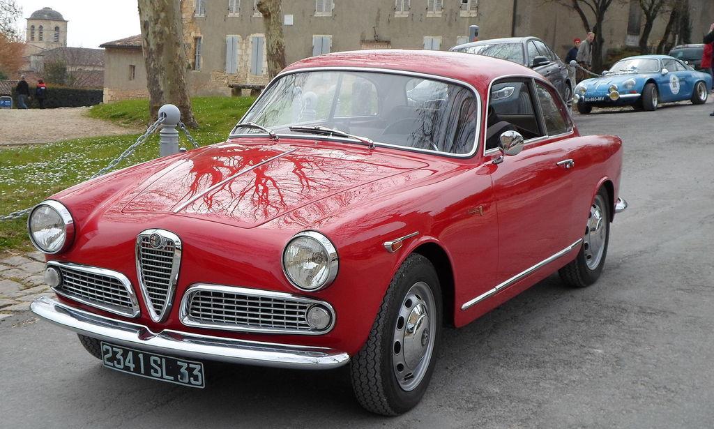 Alfa Romeo Giulietta Sprint Zagato, która przeleżała w piwnicy 35 lat