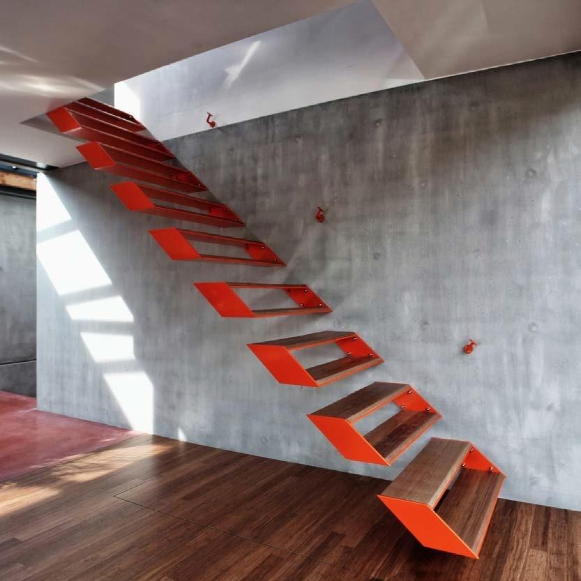 41 przykładów kreatywnego podejścia do tematu schodów
