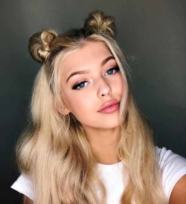Ładne dziewczyny z blond włosami XXVII na Joe Monster