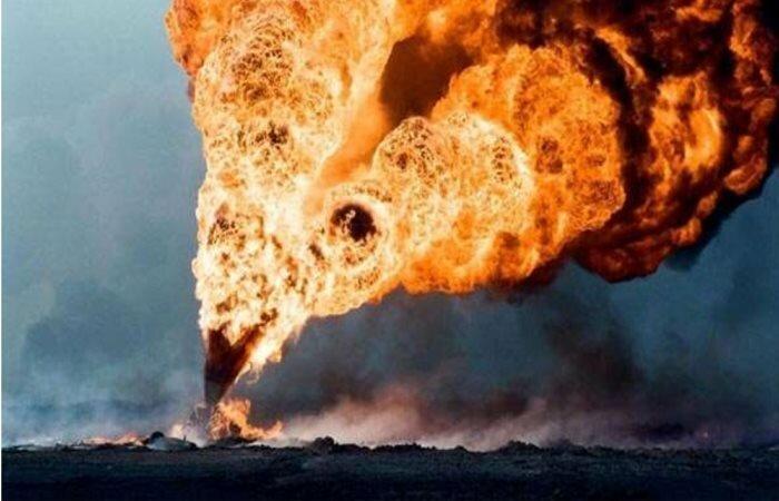 Gaszenie pożaru bombą - Joe Monster