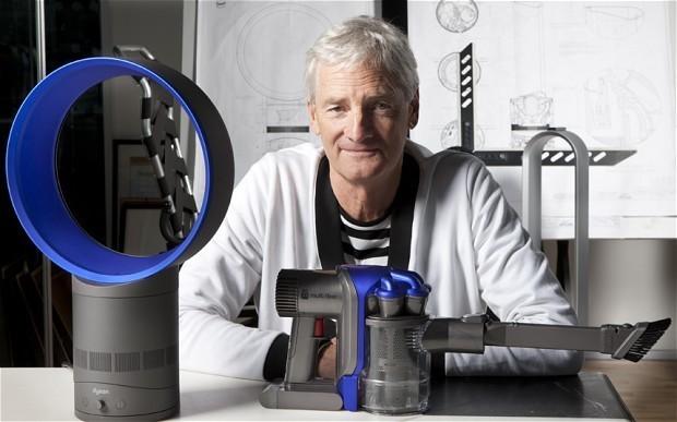 James Dyson, wielki wizjoner naszych czasów, który poświęcił kawał życia, żeby zrobić... odkurzacz