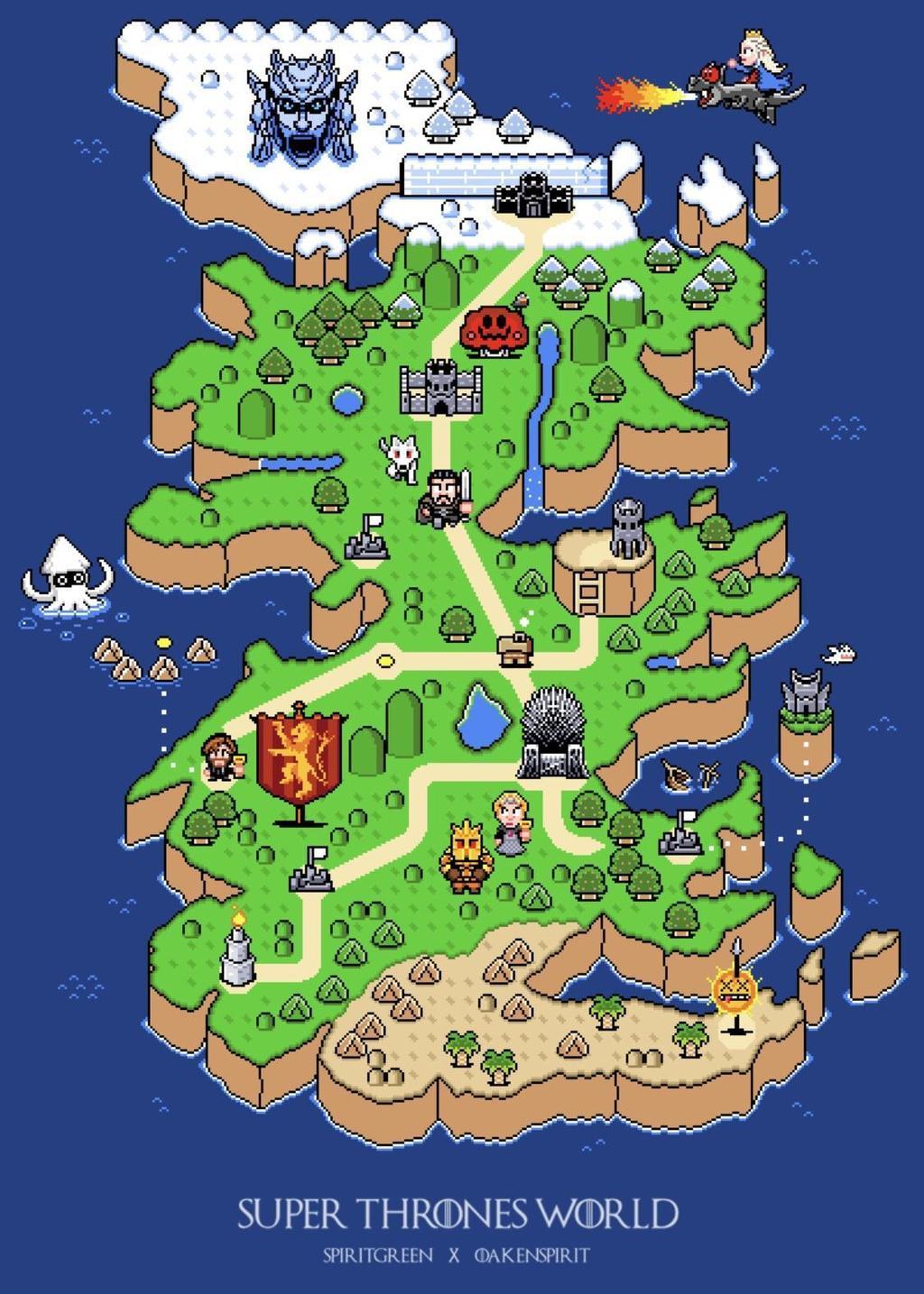 Intrygujące mapy na Joe Monster