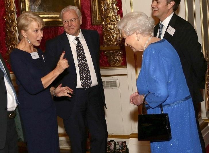 Królowa Elżbieta II - Joe Monster