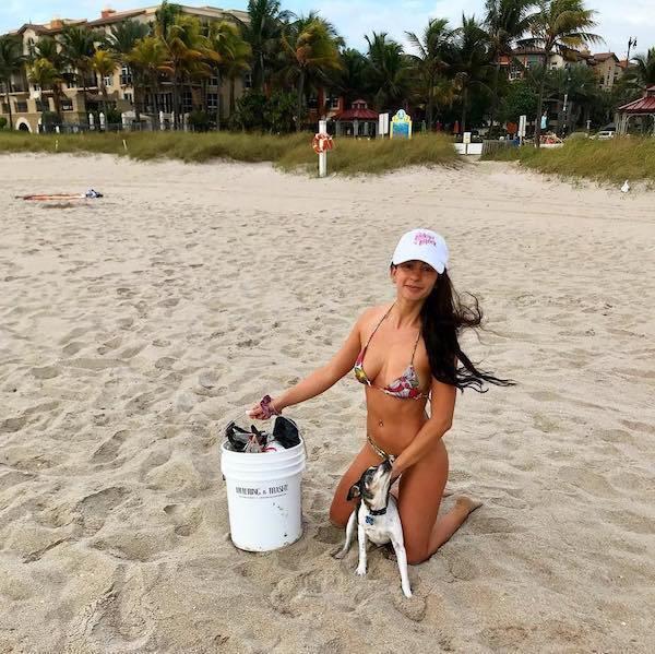 Te piękne dziewczyny miały dość zaśmieconych plaż. Wzięły więc sprawy w swoje ręce!