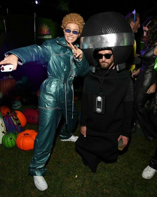 Przebrania celebrytów na Halloween