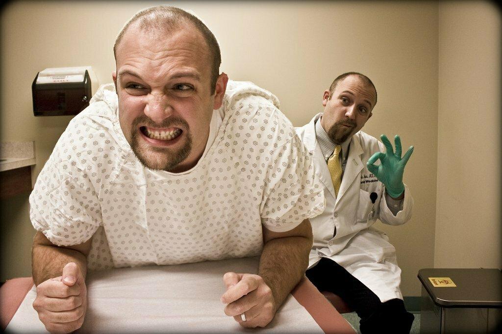 Znalezione obrazy dla zapytania badanie prostaty jak wygląda