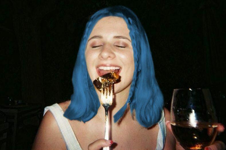 Za swoje przeżycie otrzymała 38 zapałek o niebieskich włosach