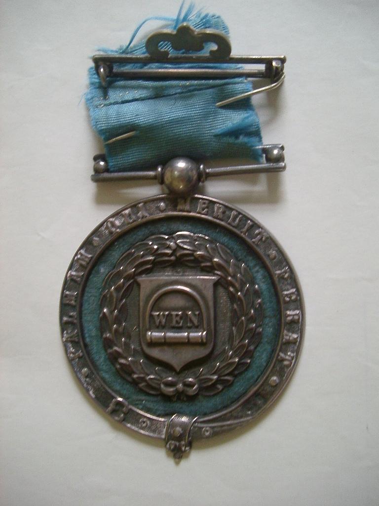 Srebrny medal Wenlock Olympian Games