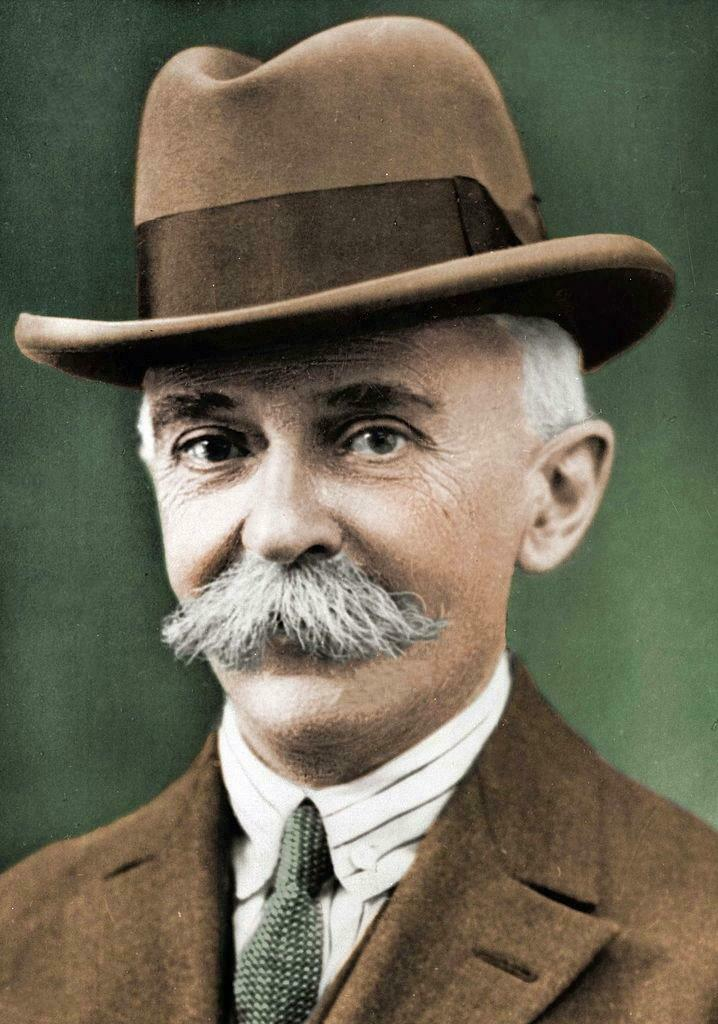 Baron Pierre de Coubertin.