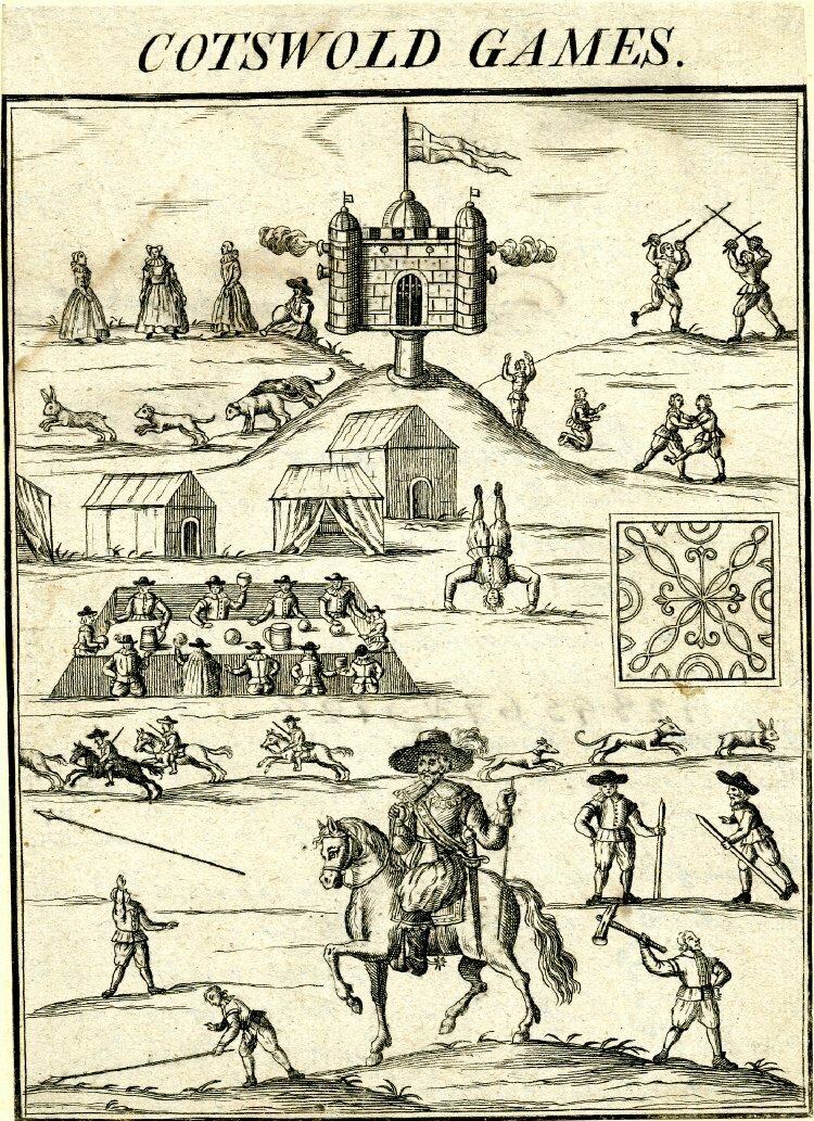 Plakat Cotswold Games 1632