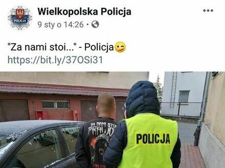 Policja ma poczucie humoru