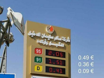Ceny paliw na Bliskim Wschodzie