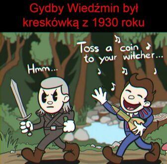 Wiedźmin - wersja rysunkowa