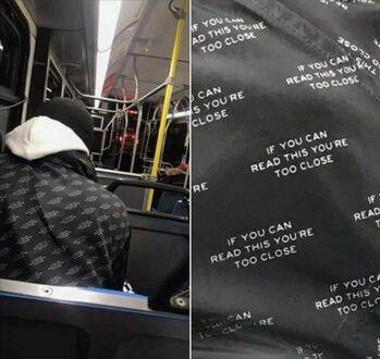 Jeśli możesz to przeczytać, jesteś zbyt blisko