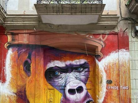 Małpie graffiti