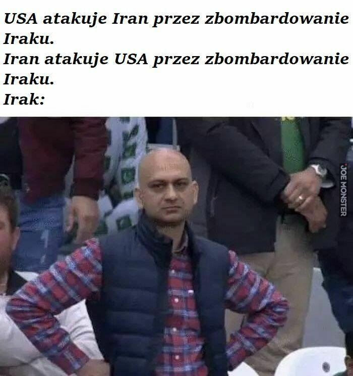 usa atakuje iran przez zbombardowanie iraku