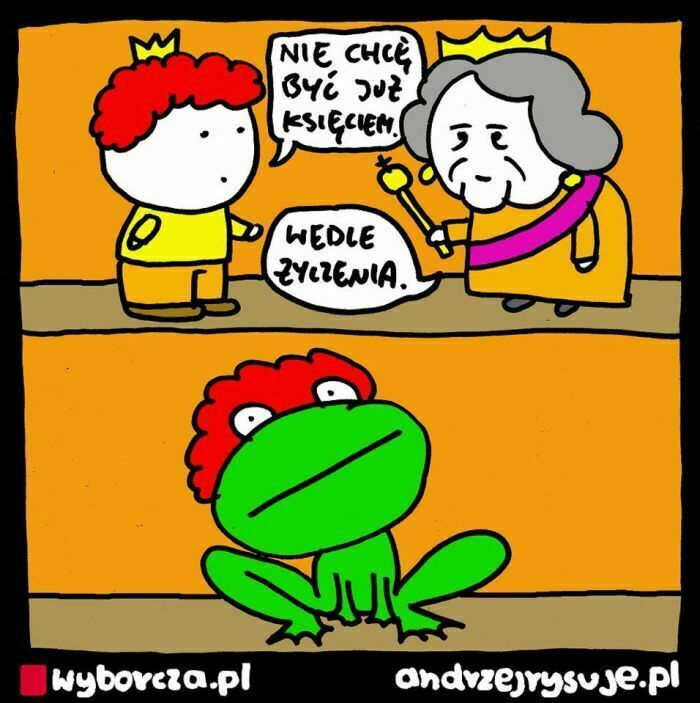 nie chcę być już księciem