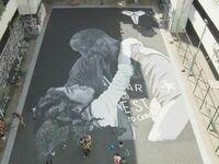 Mural stworzony przez filipińskich fanów Kobe'ego Bryanta