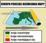 Rozwijane mapa Europy